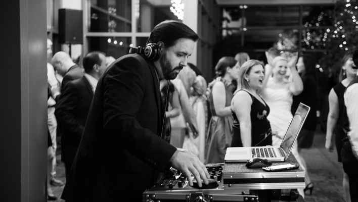 Evan Reitmeyer, Wedding DJ in Baltimore, Maryland and Washington, DC